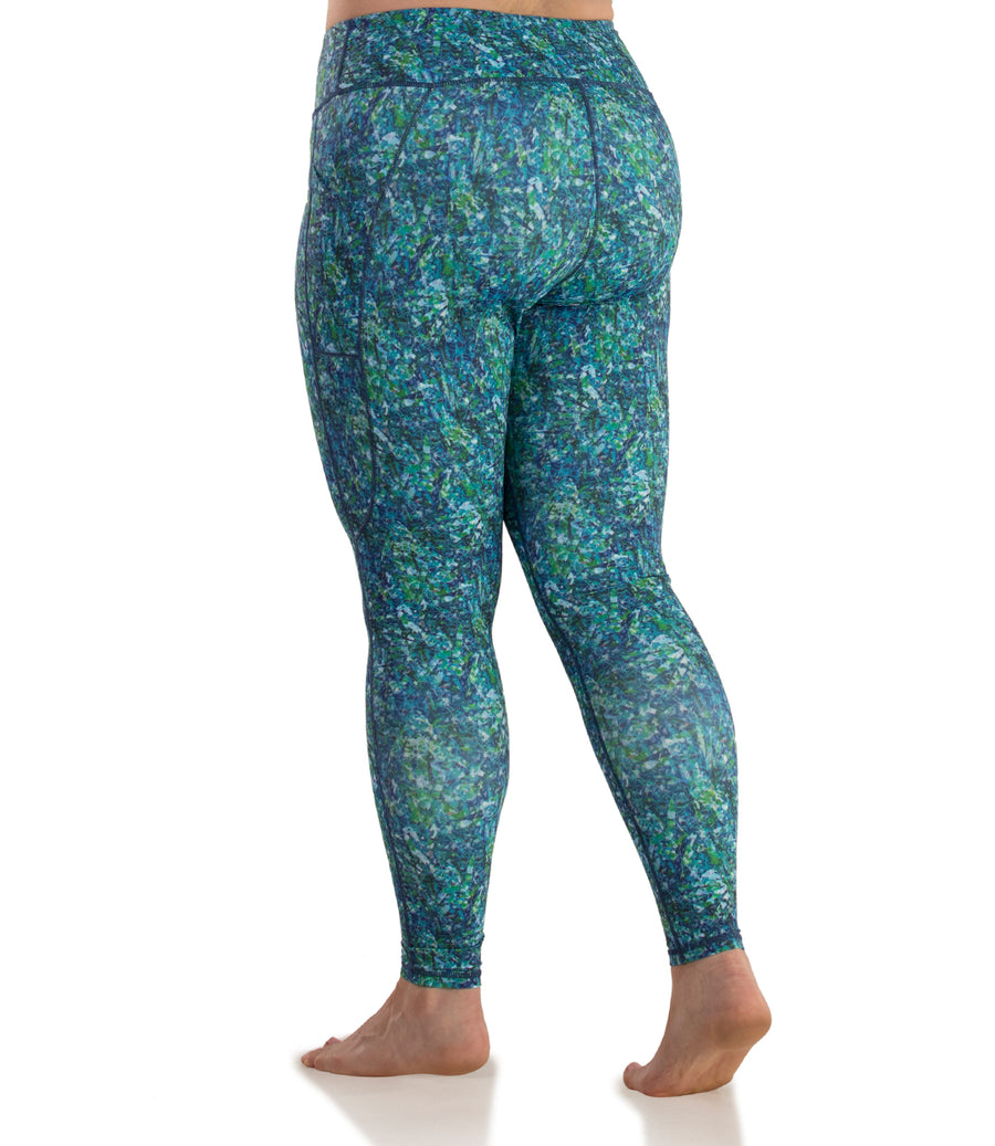 QuikControl™ Printed Side Pocket Legging