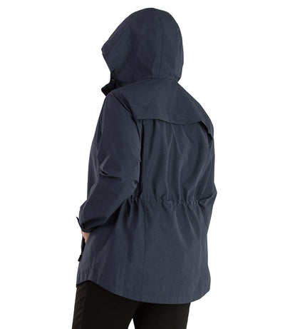 Plus Size Rain Jacket