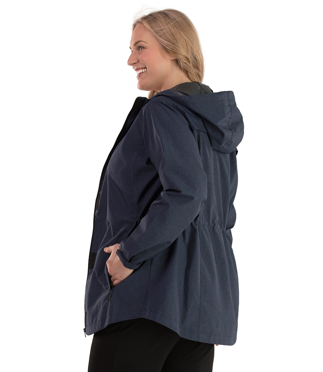 Plus Size Women's Rain Jacket