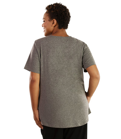 Stretch Naturals Lite Pocket Tee-Plus Size Activewear & Athletic Clothing-Hop Wo Trading Co Ltd-JunoActive