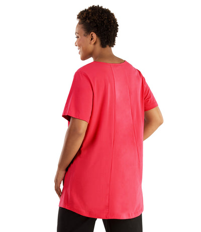 Stretch Naturals Lite Swing Top-Plus Size Activewear & Athletic Clothing-Hop Wo Trading Co Ltd-JunoActive