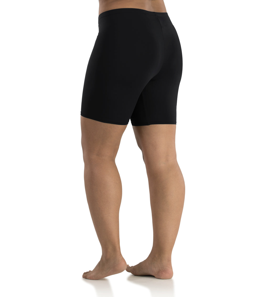 Junowear Hush Boxer Brief-Plus Size Underwear & Intimates-Hop Wo Trading Co Ltd-1X-BLACK-JunoActive