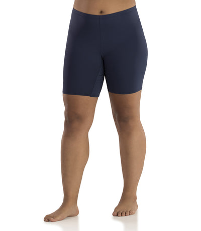 Junowear Hush Boxer Brief-Plus Size Underwear & Intimates-Hop Wo Trading Co Ltd-1X-NAVYBLUE-JunoActive