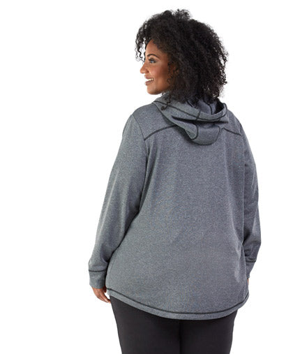 SoftSport™ 240 Fleece Full Zip Hoodie - JunoActive