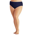Junowear Hush Midrise Brief-Plus Size Underwear & Intimates-Hop Wo Trading Co Ltd-1X-NAVYBLUE-JunoActive