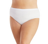 Junowear Hush Briefs-Plus Size Underwear & Intimates-Hop Wo Trading Co Ltd-1X-WHITE-JunoActive