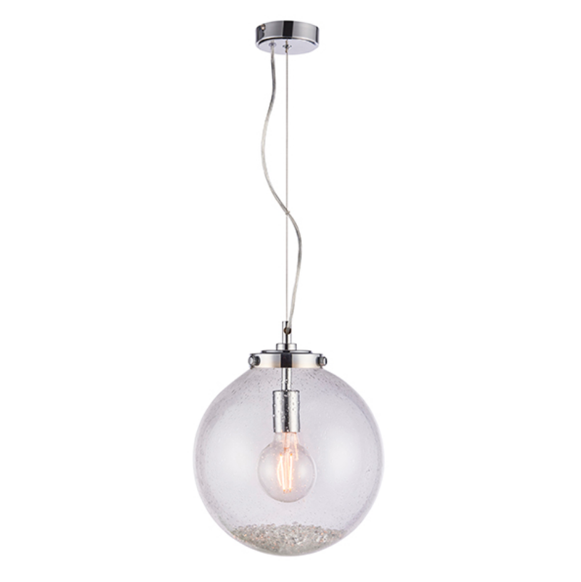 1 Glass Ball Light