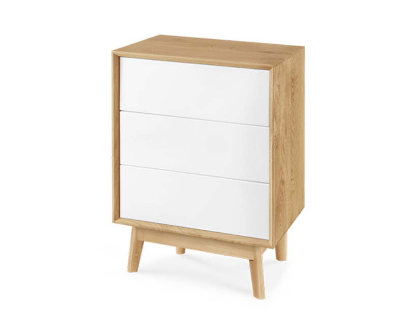 Vienna Small 3 Drawer Sideboard