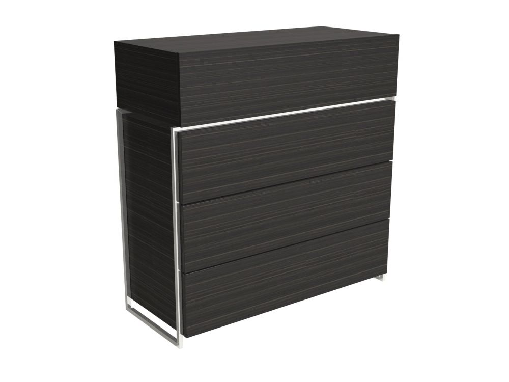 4 Door Tall Chest of Drawers- Different Finishes