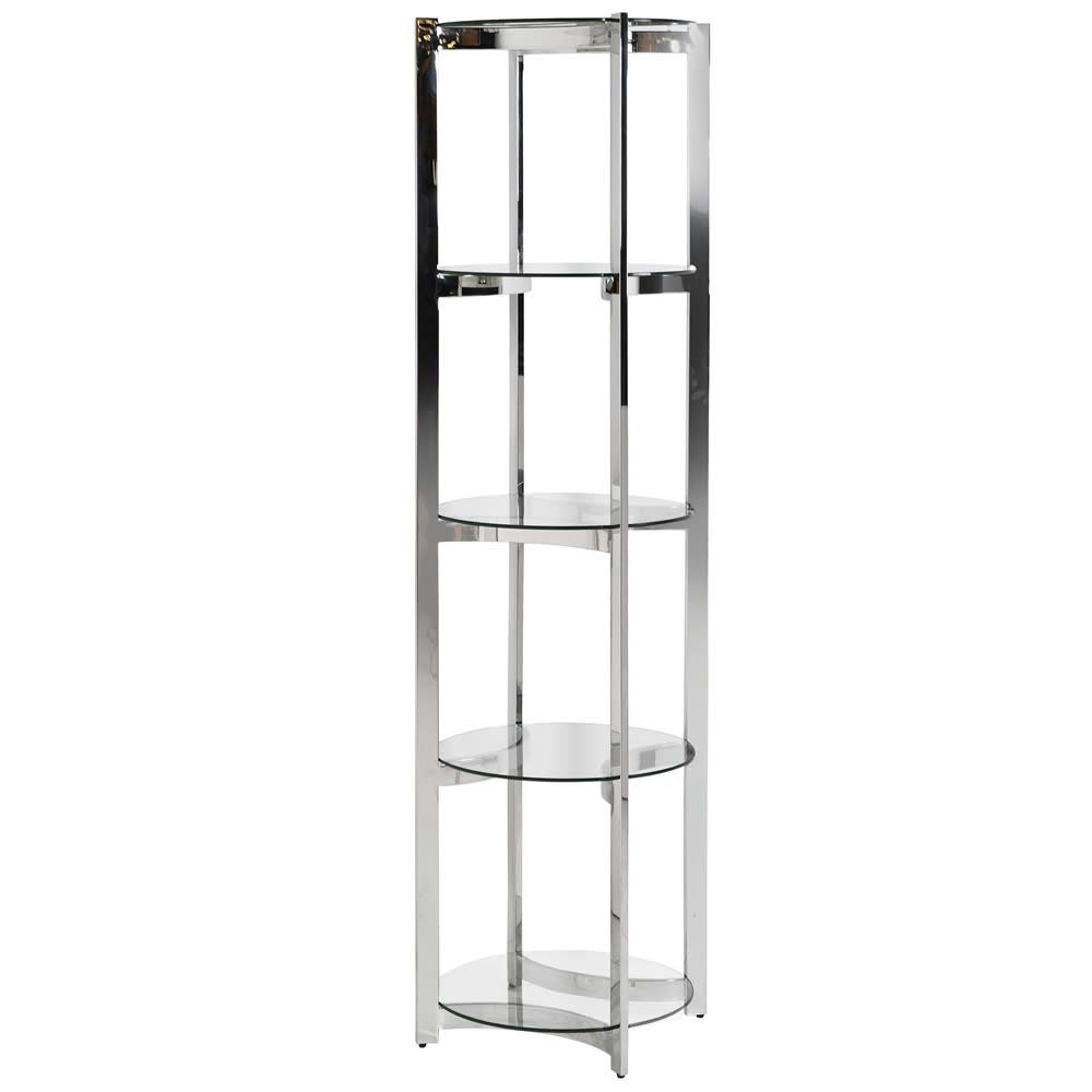 4 Tier Round Shelf Unit