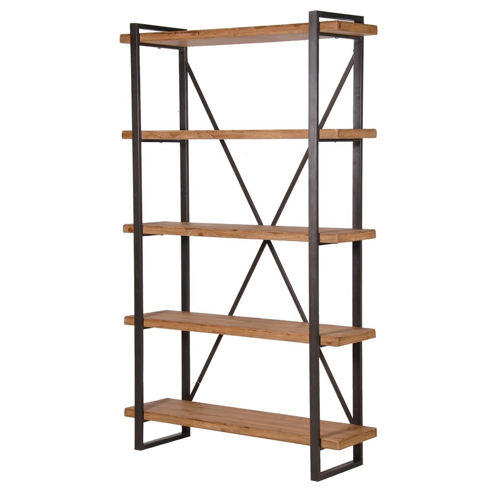 4 Tier Wooden Shelf Unit