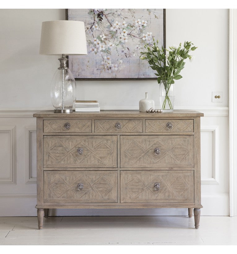 Henrique 7 Drawer Chest