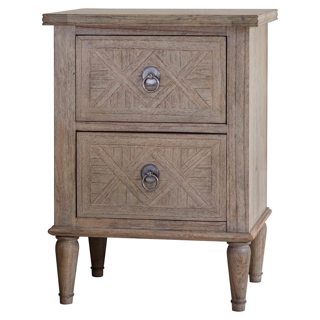Henrique 2 Drawer Bedside Table