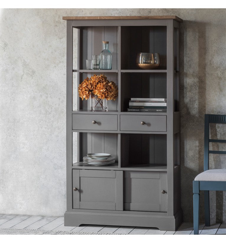 Gresham Bookcase Grey
