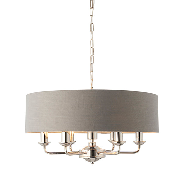6 Light Ceiling Lamp - Different Shade Colours