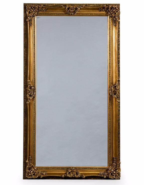 Antique Gold Large Regal Mirror