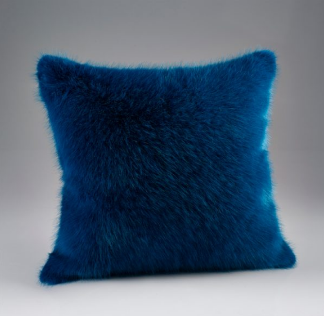 Different Coloured Faux Fur Cushions