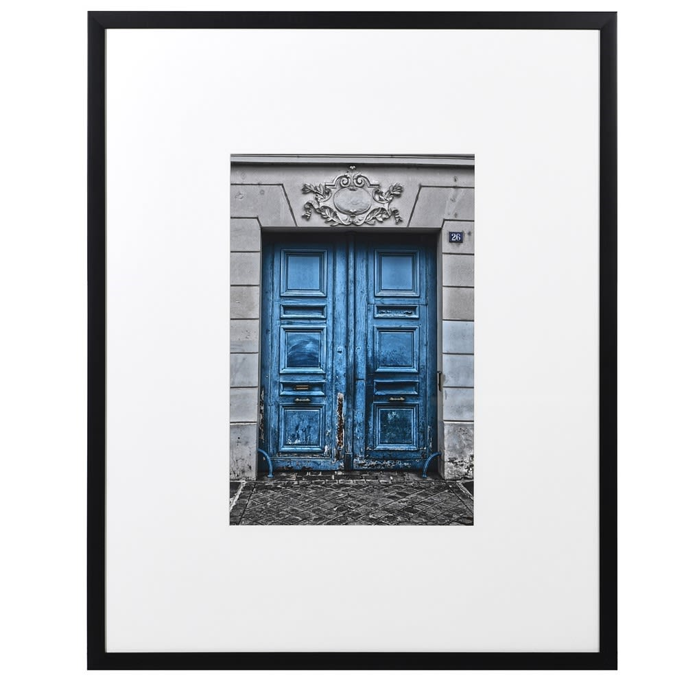 Blue Paris Door Picture