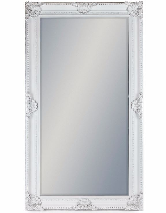 Large Detailed Frame Classic Mirror