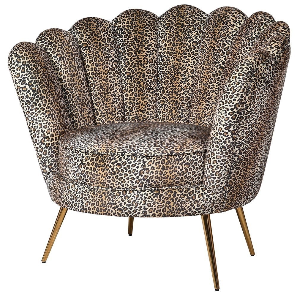 Leopard Shell Chair