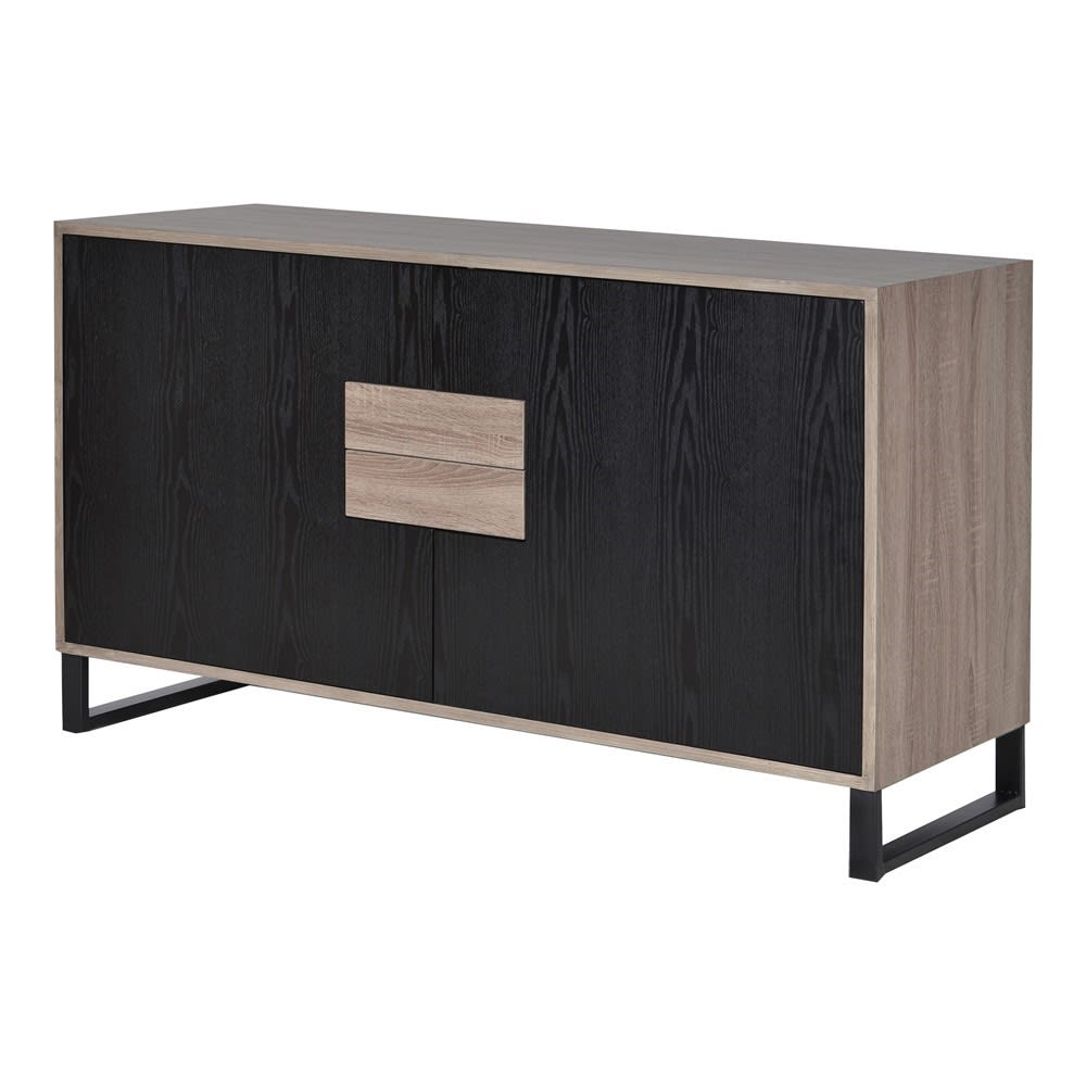 Multi Compartment Linear Sideboard