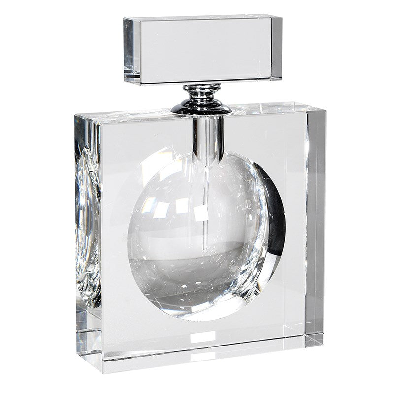 Crystal Flat Perfume Bottle