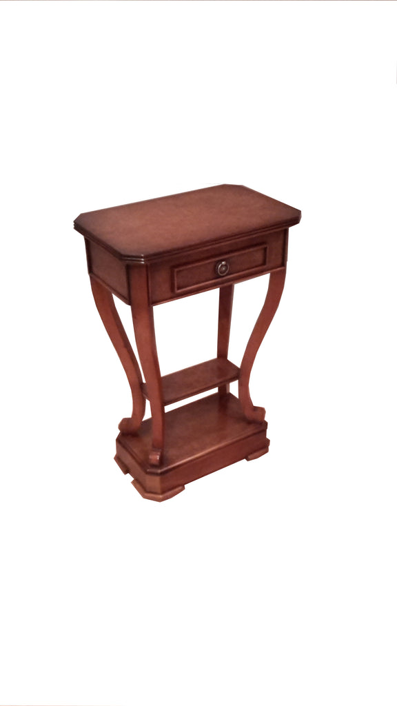 Prestcott Lamp Table with 1 Drawer