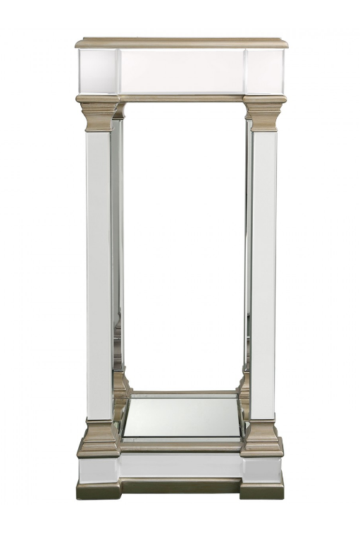 Rollo Large Champagne Tall End Table