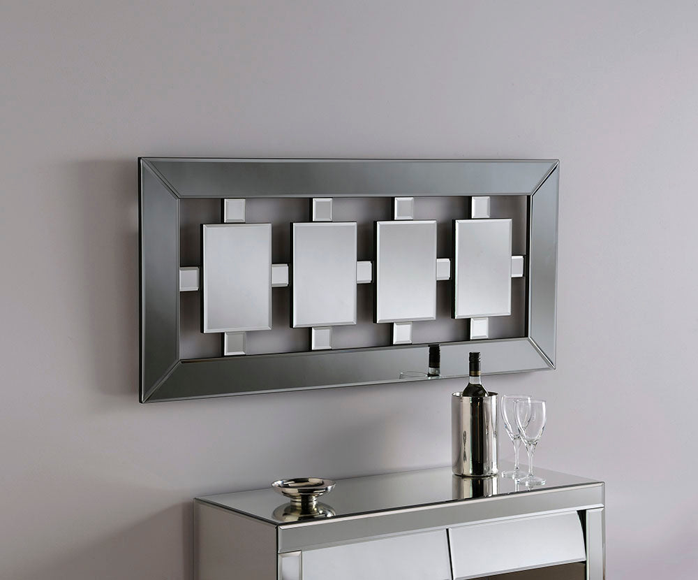 4 Centre Panel Wall Mirror