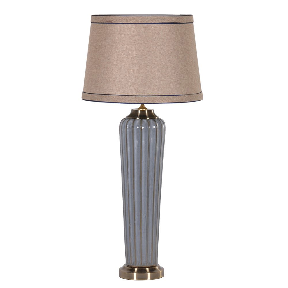 Tall Elegant Lamp with Shade