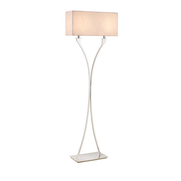 Vienna 2 Light Floor Lamp