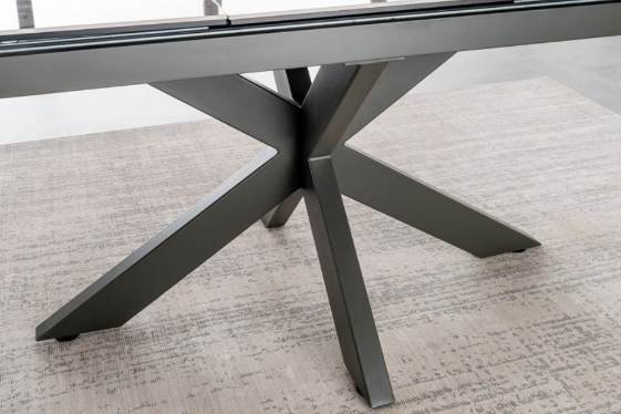 Valeria Grey Extending Dining Table