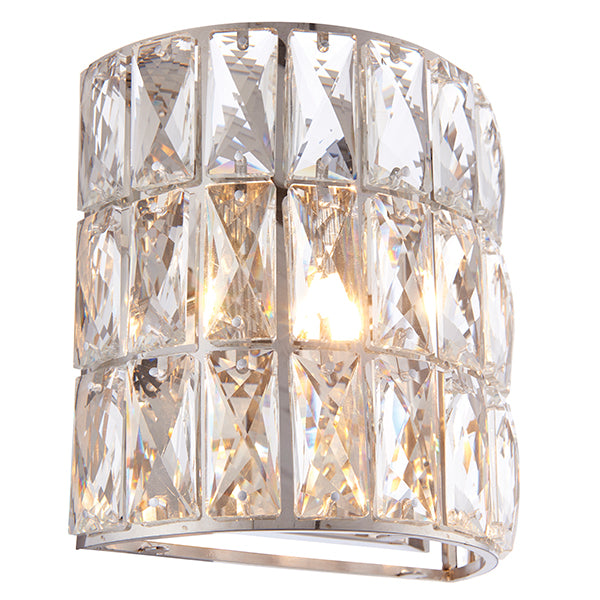 Clear Crystal Wall Lamp