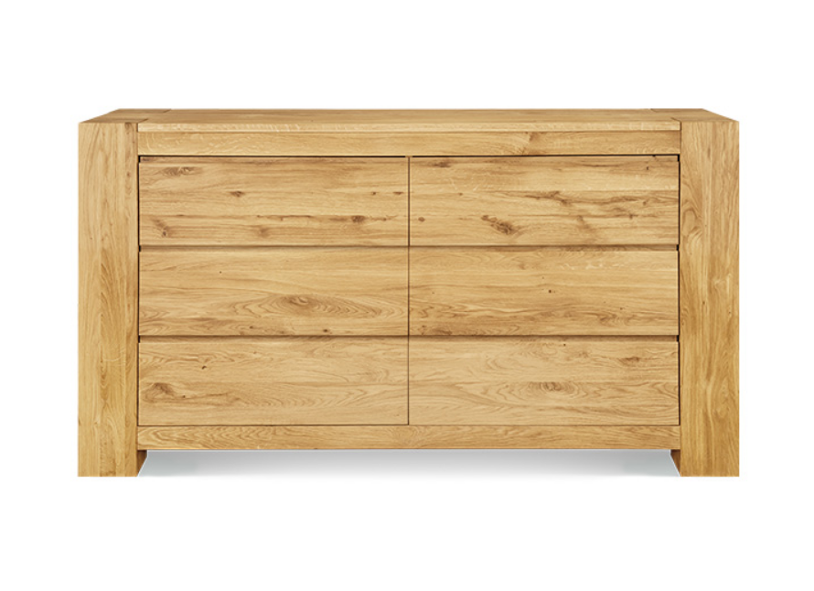 Master Wide 6 Drawer Chest