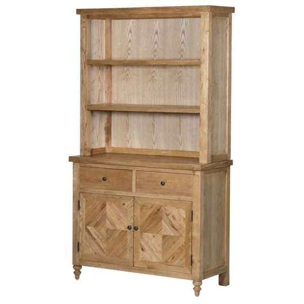 Ribchester Oak 2 Door Dresser