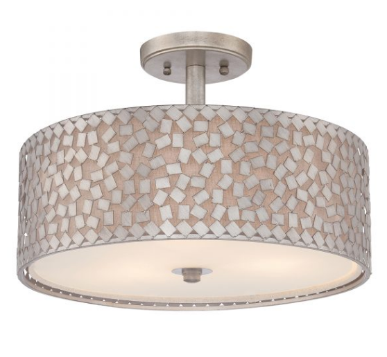 Conner 3 Light Semi-Flush