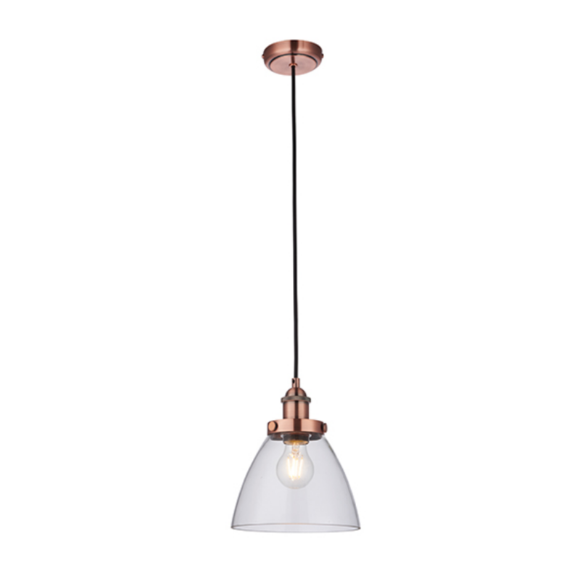Glass Shade Ceiling Lamp (Different Finishes)