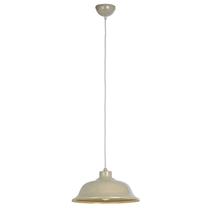 Country Cream Ceiling Lamp