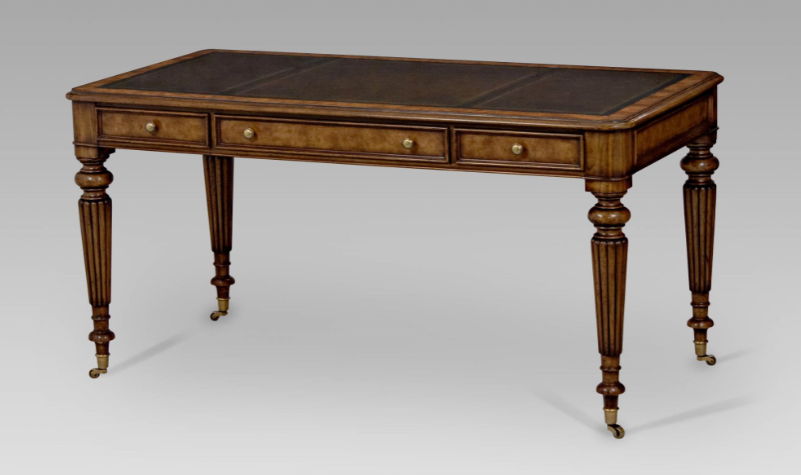 Dark Mahogany Writing Desk