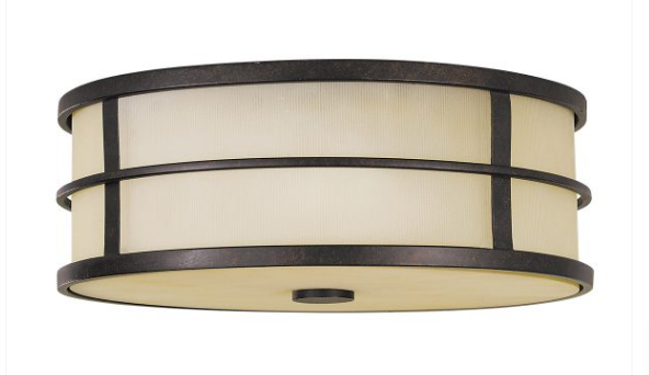 Fuseli 3 Light Flush Mount