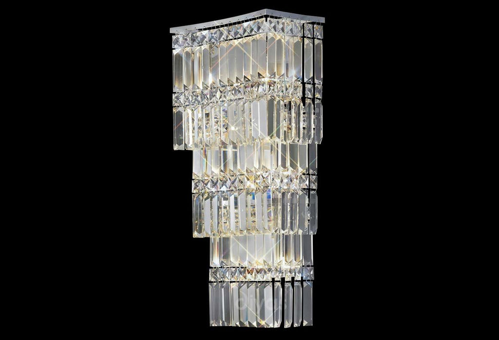 Gianni 4 Light Polished Chrome Wall Light