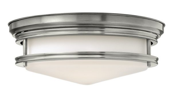 Haley 3 Light Flush - Different Finishes