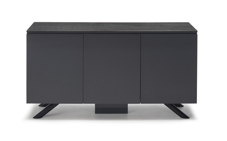 Black 3 Door Sideboard