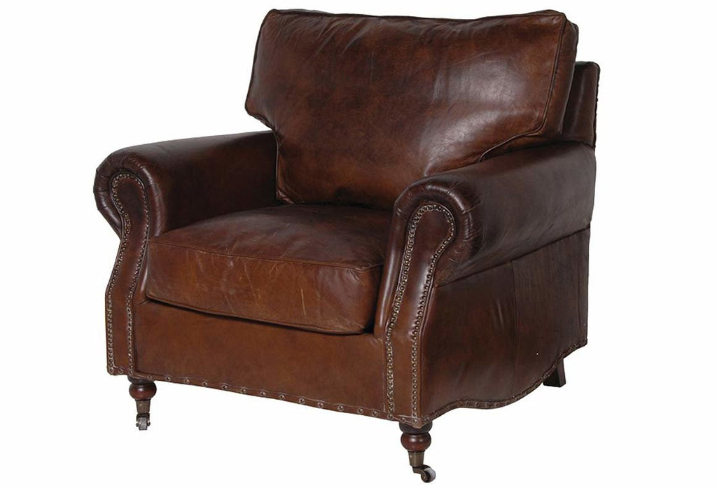 Grantham Leather Armchair