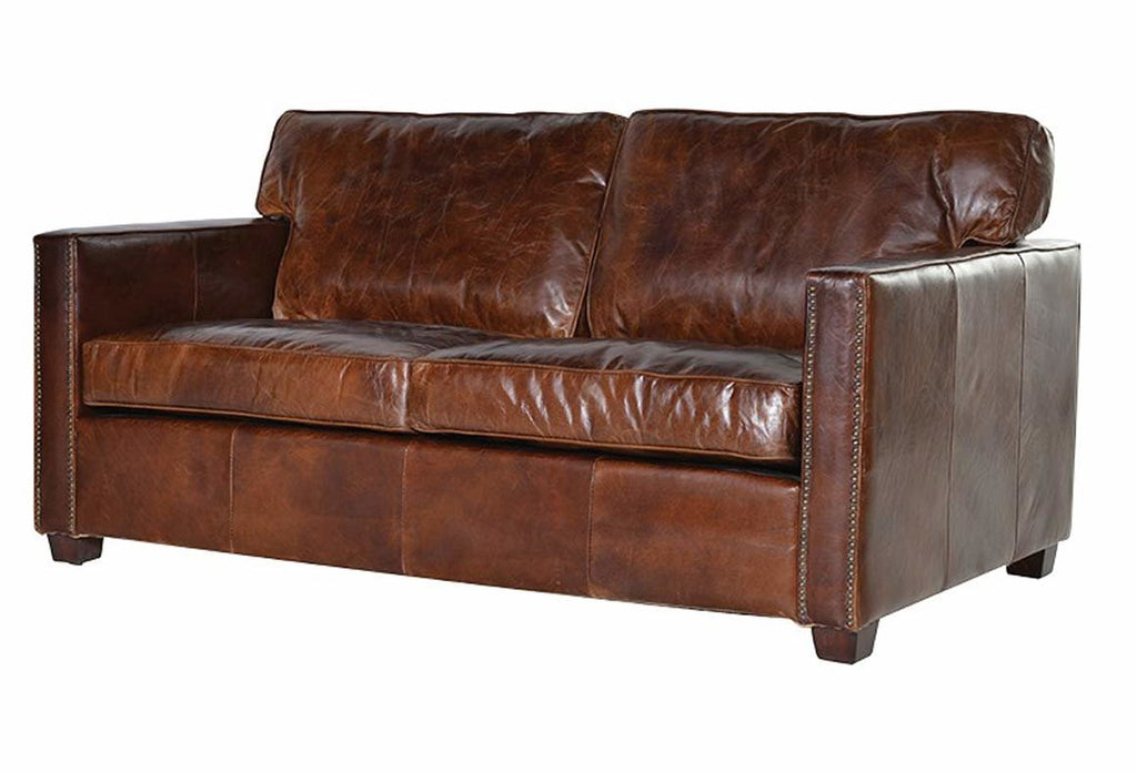 Oakham Leather 2 Seater Sofa