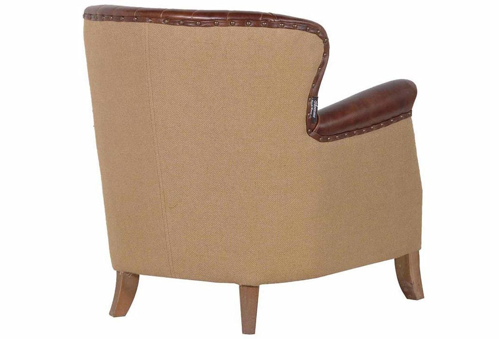 Buttoned Back Armchair