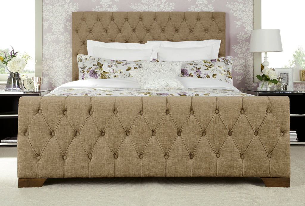 Lillian King Size Bed in Fudge