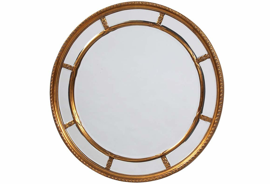 Gold Porthole Multi Mirror