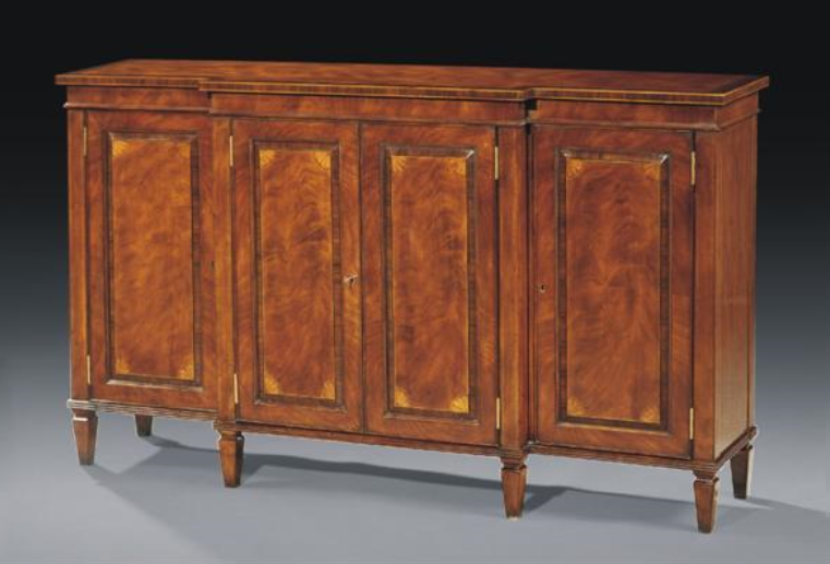 4 Door Mahogany Sideboard