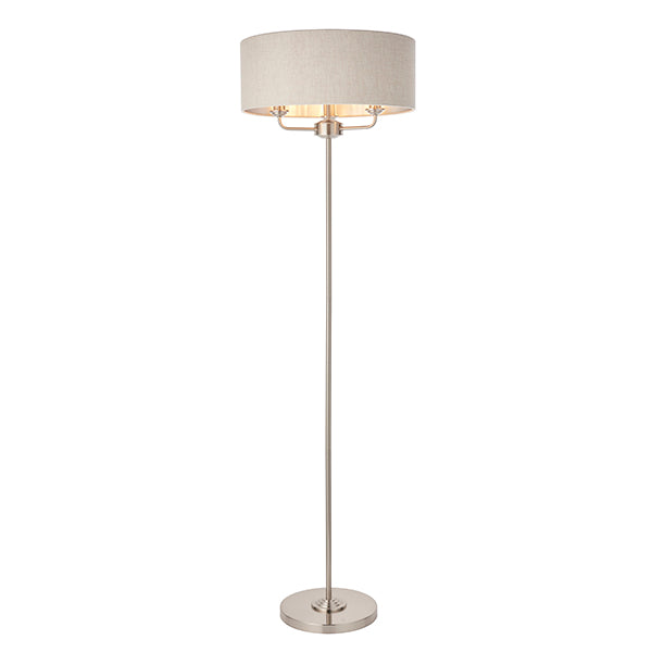 Natural 3 Light Floor Lamp